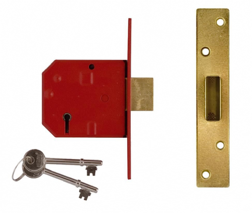 Union 2134E 5 Lever BS Mortice Deadlock